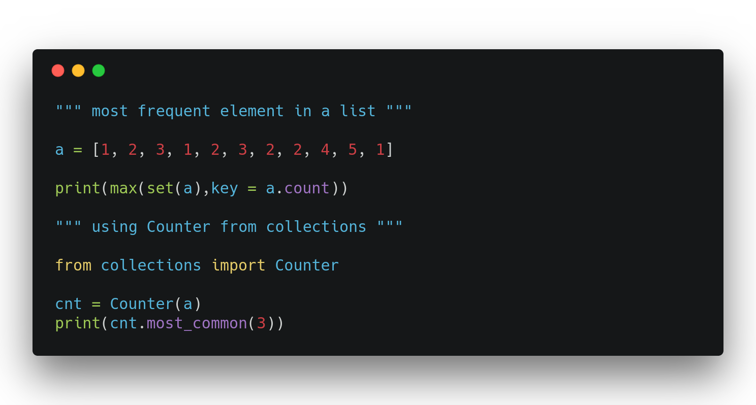 Python Tricks 101 - By