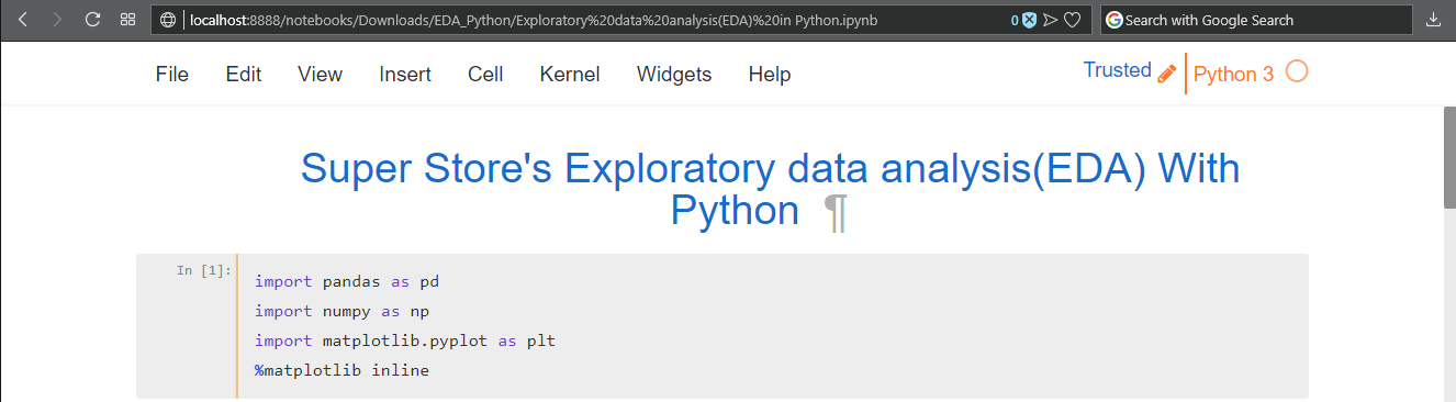 Overview of Exploratory Data Analysis With Python - By