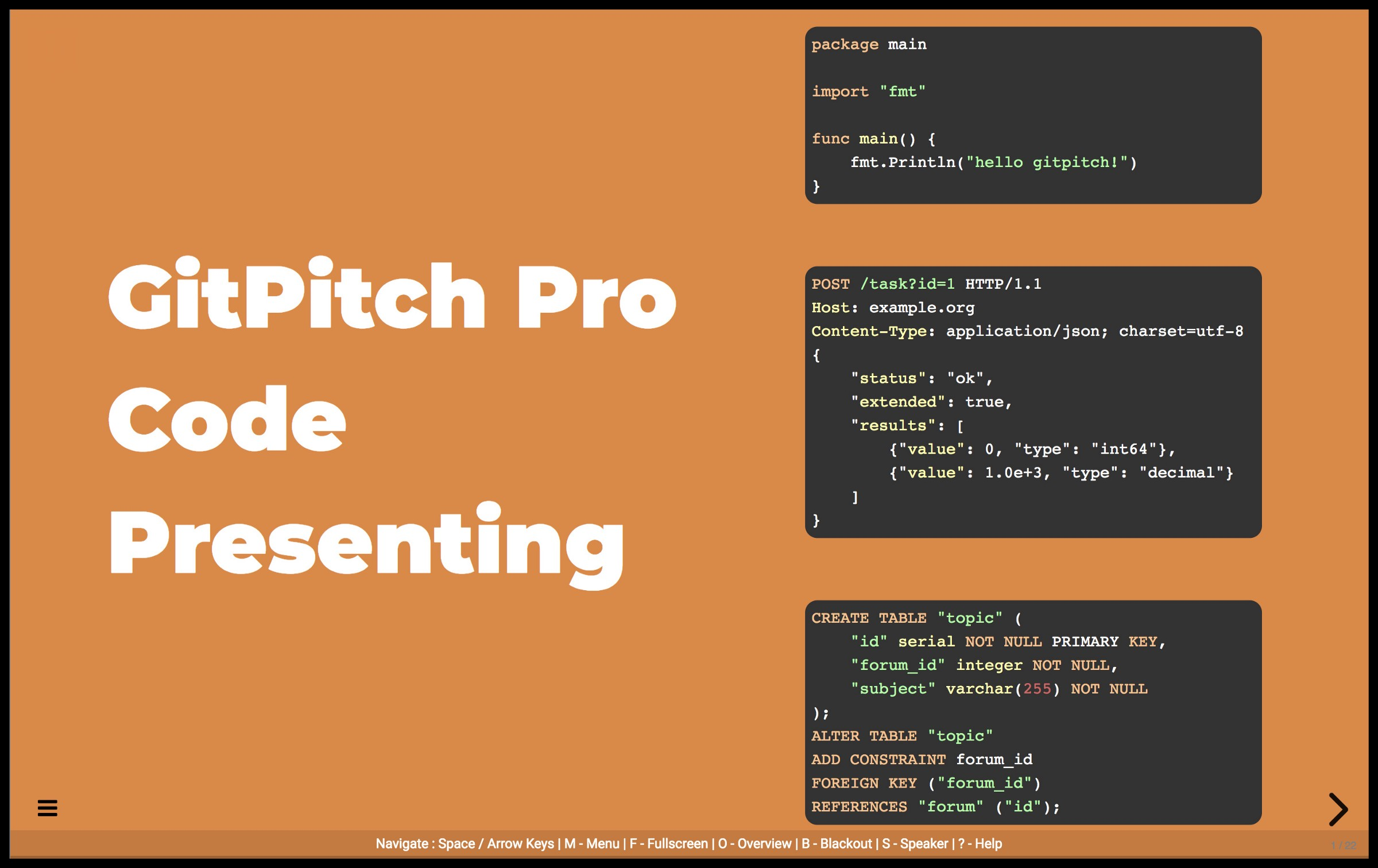 GitPitch adds CODE ZOOM for Slide Decks - By David Russell