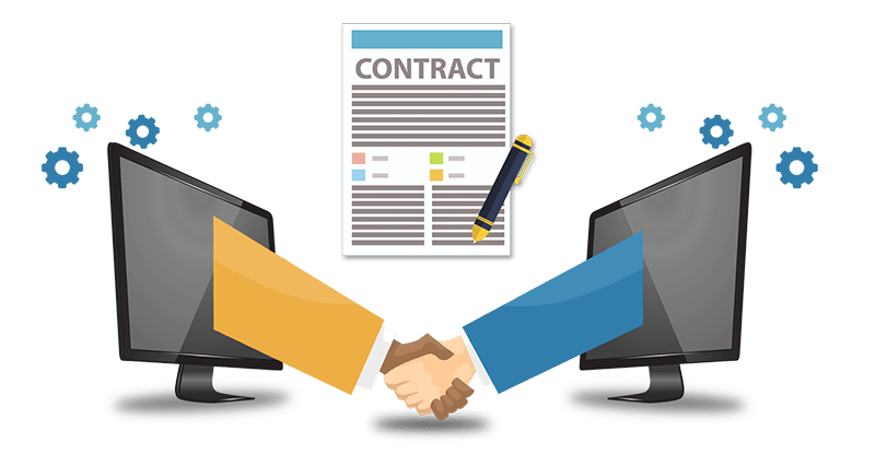 /ai-smart-contracts-the-past-present-and-future-625d3416807b feature image