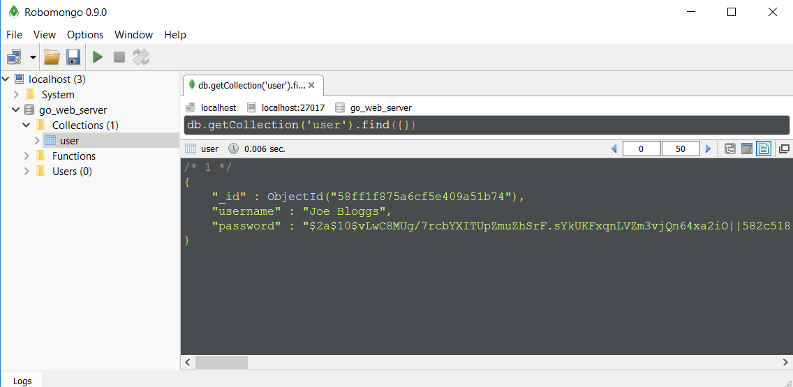 Make yourself a Go web server with MongoDb  Go on, Go on, Go on… - By