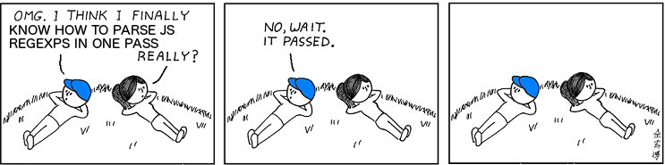 The madness of parsing real world JavaScript regexps - By