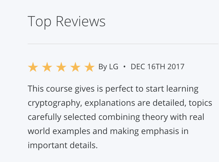 How I finally started learning new things like Cryptography - By