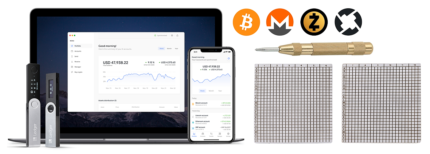 /bulletproof-crypto-cold-storage-via-ledger-and-blockplate-i2s2tzx feature image