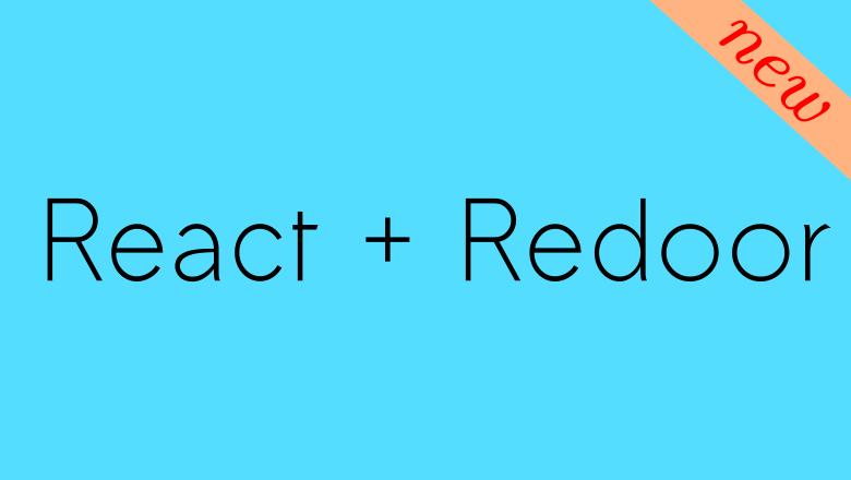 Redoor: New Alternative to Redux