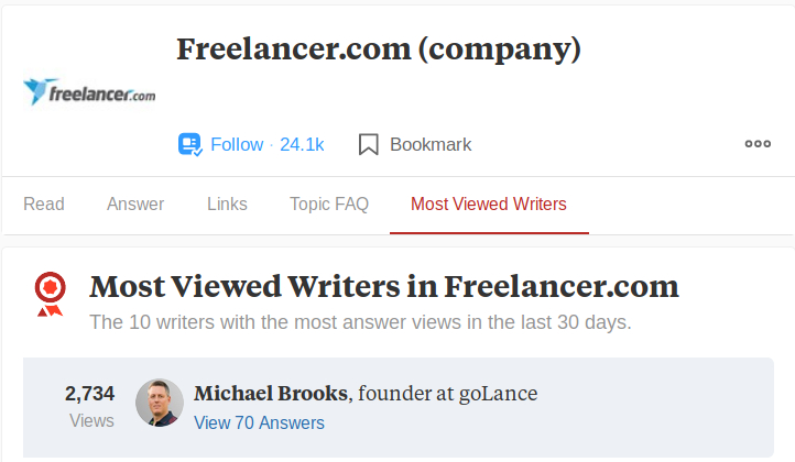Has Toptal Made Quora Become Biased In Freelance Topics Hacker Noon