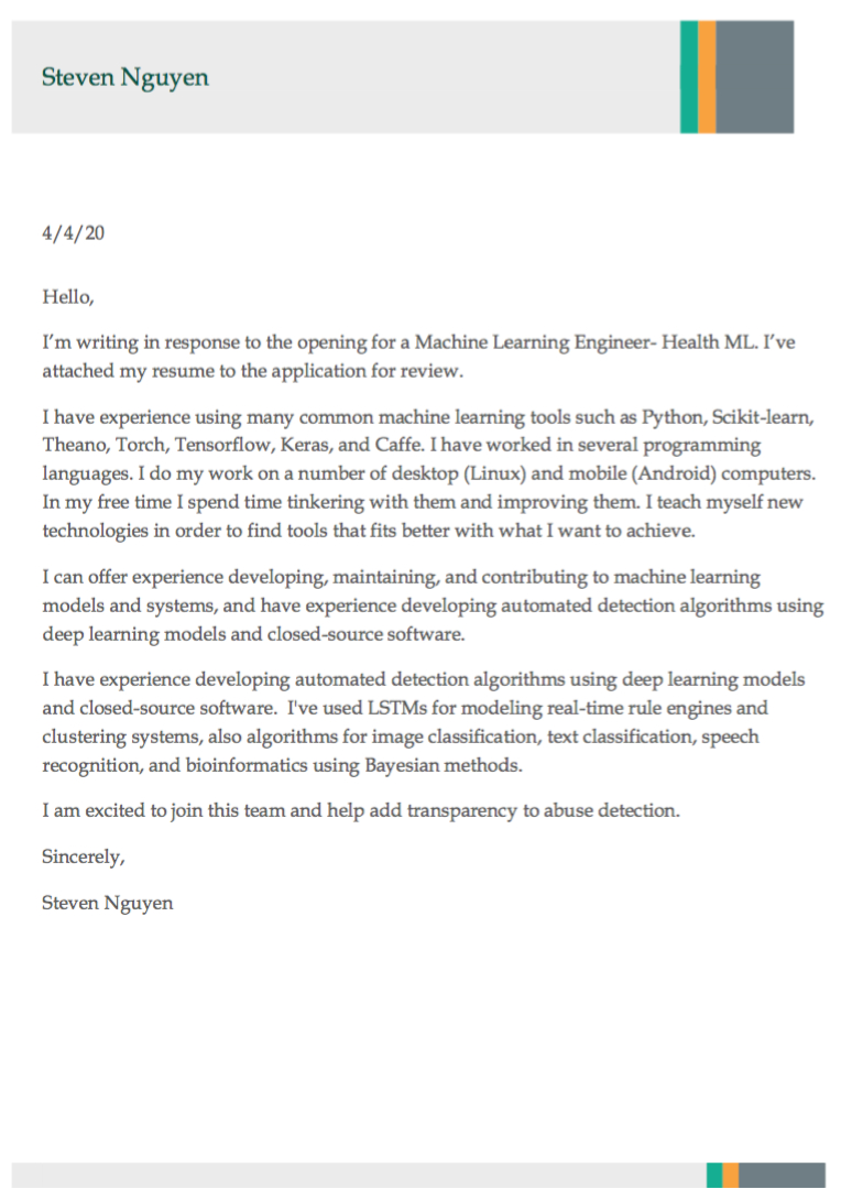 Didn't Get The Job Letter from hackernoon.com
