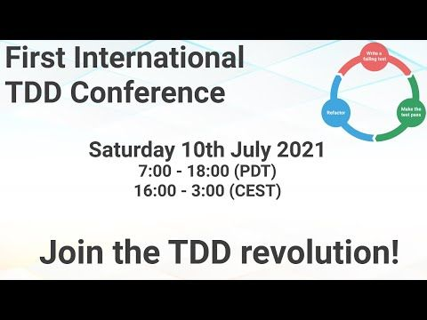 /tdd-conference-2021-opening-ceremony-by-alex-bunardzic feature image