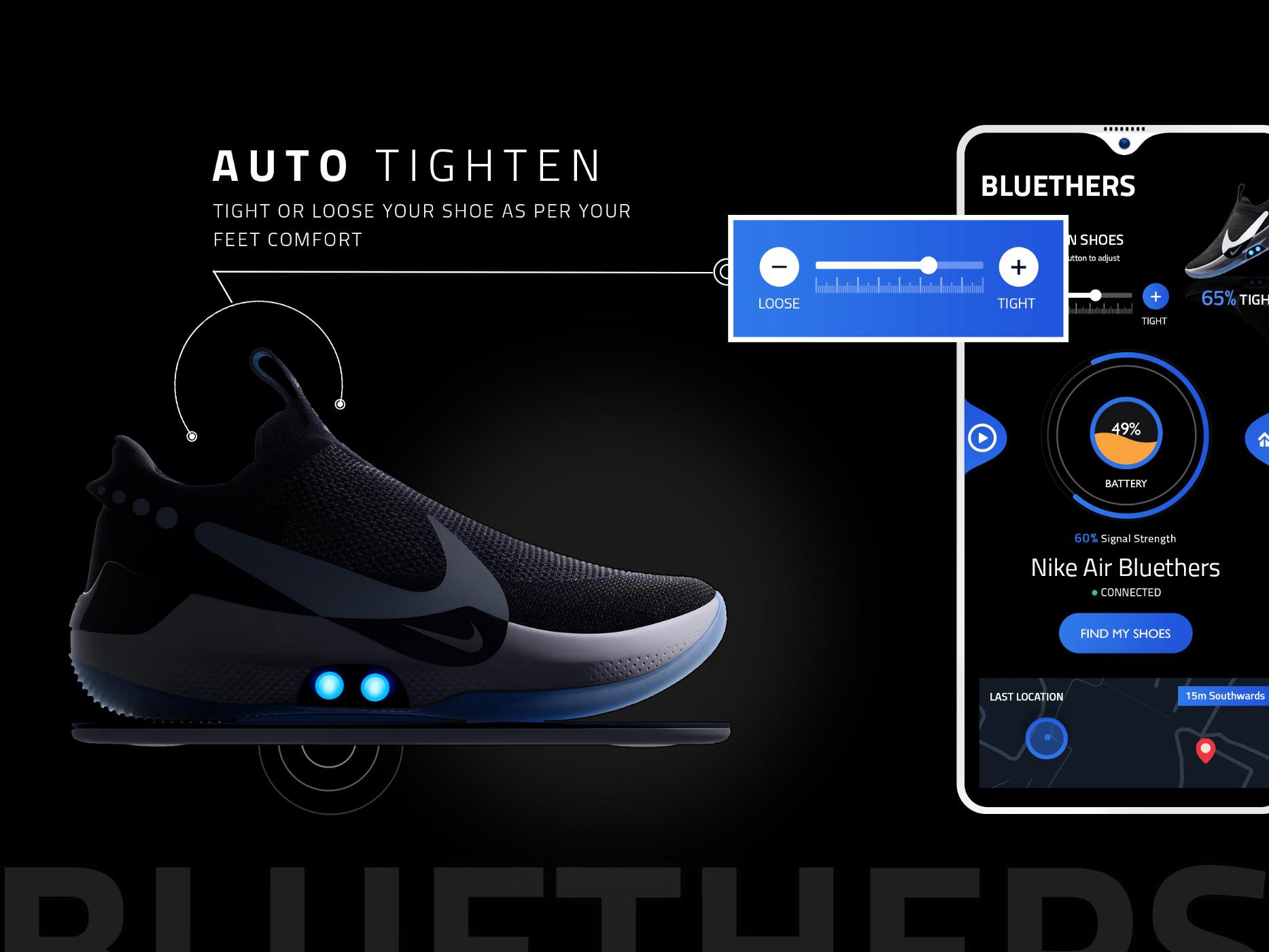 Smart Shoes Adapt BB — Bluethers