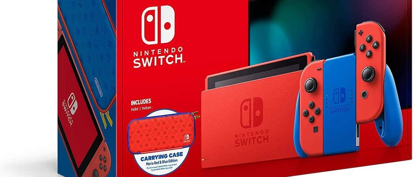 /multiple-online-retailers-restock-nintendo-switch-mario-red-and-blue-edition-txz33xp feature image