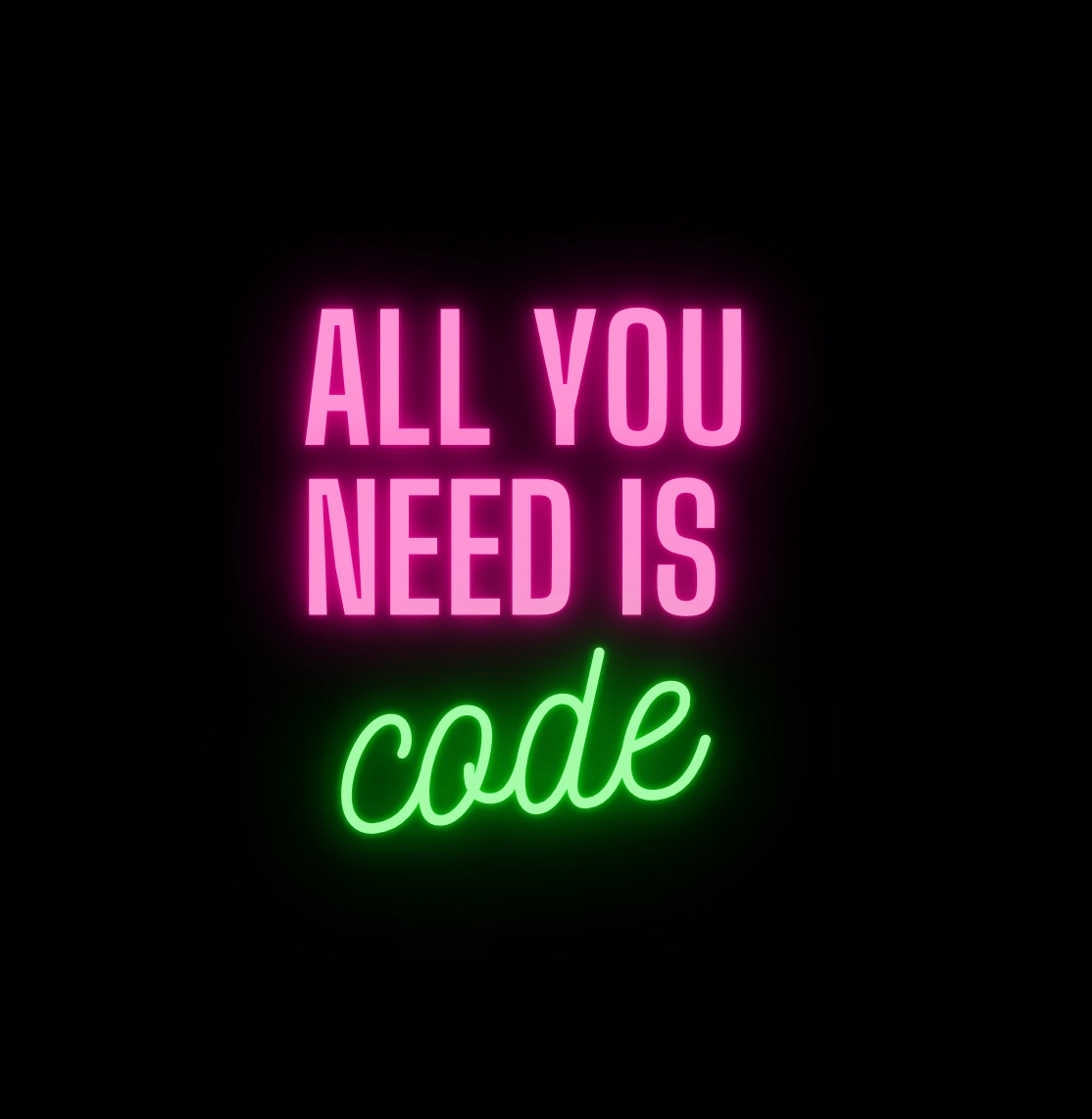 All you need is code  Hacker Noon profile picture
