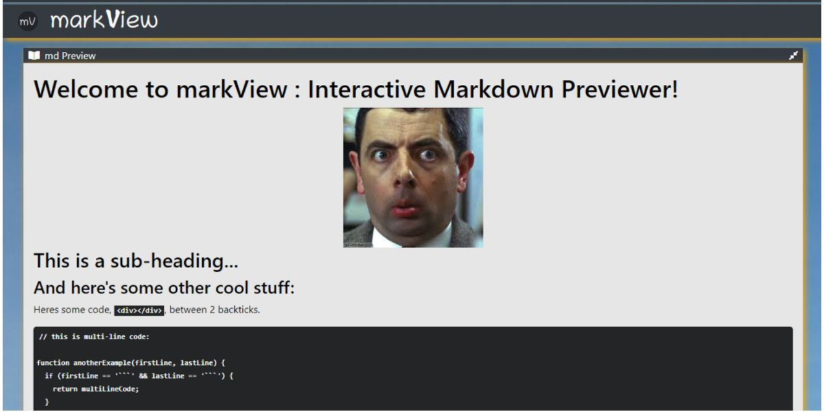 /my-first-react-app-markview-an-interactive-markdown-previewer-4h7033jm feature image
