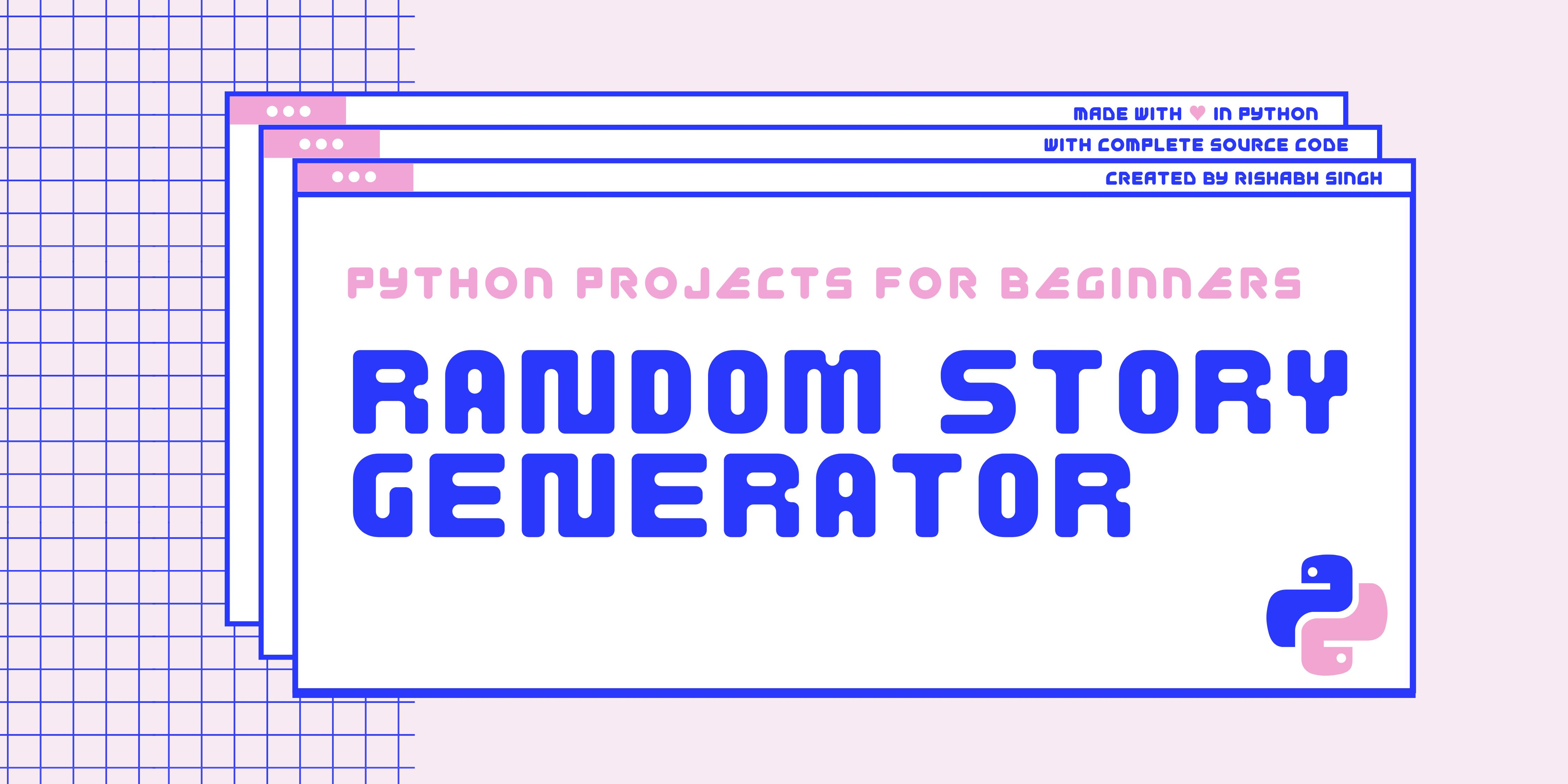 /beginner-python-projects-build-a-simple-random-story-generator-fq3t33lv feature image