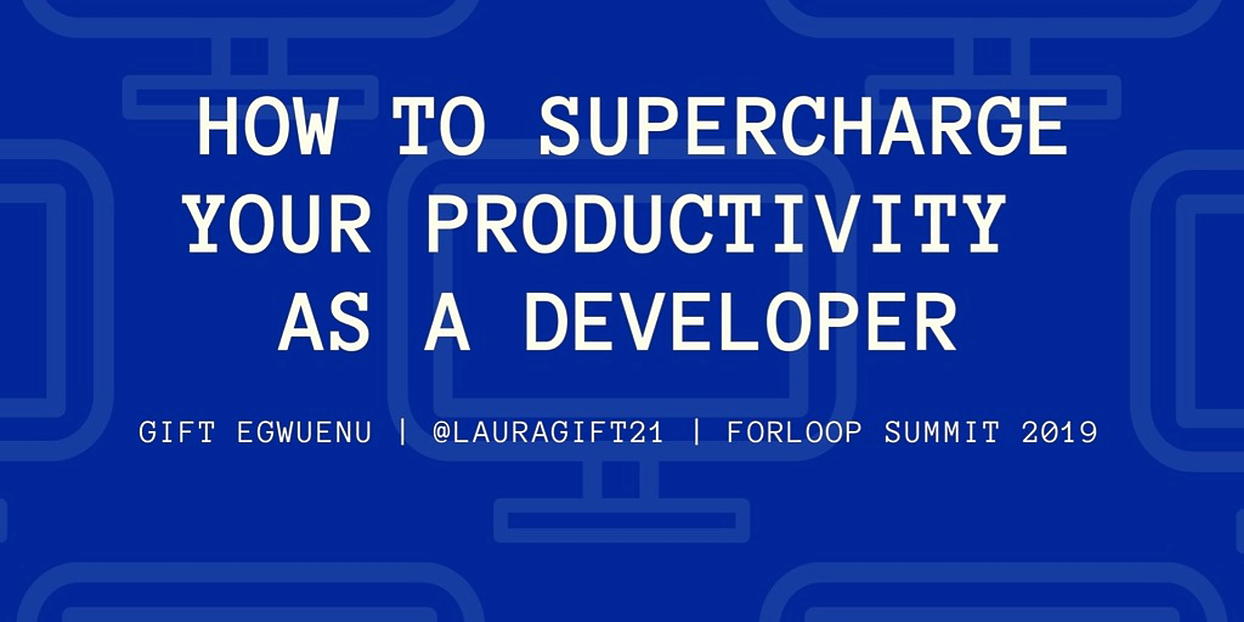 /how-to-supercharge-your-productivity-as-a-developer-vn8734mu feature image