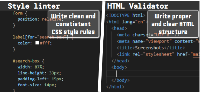 /the-teacher-and-enforcer-in-style-linters-and-html-validators-m32u30pk feature image