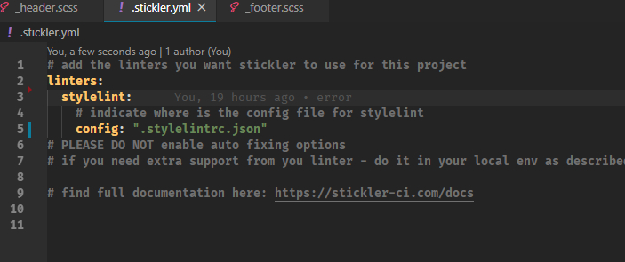 /setting-up-stylelint-for-scss-and-stickler-for-github-f14t329m feature image