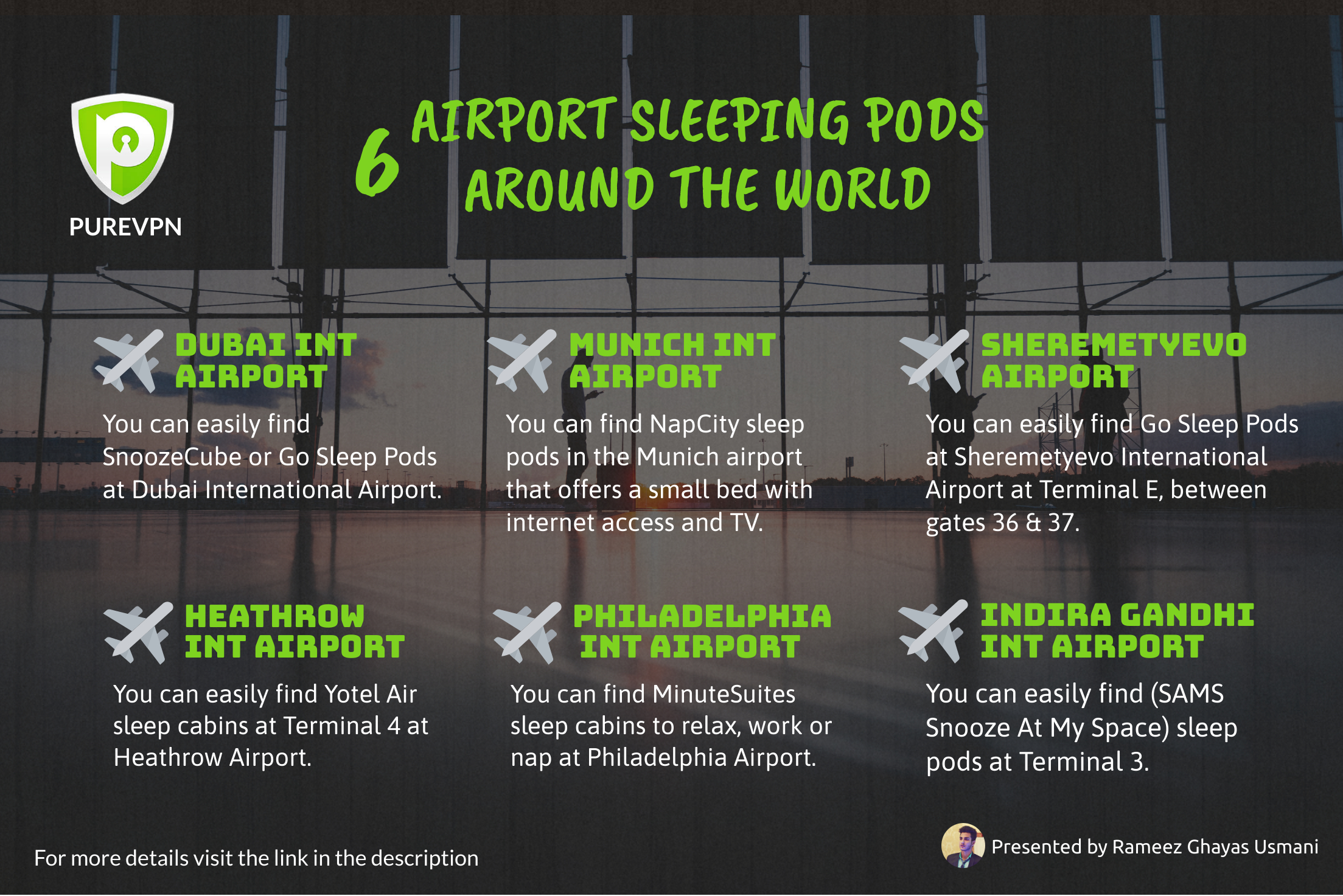 Airport Sleeping Pods