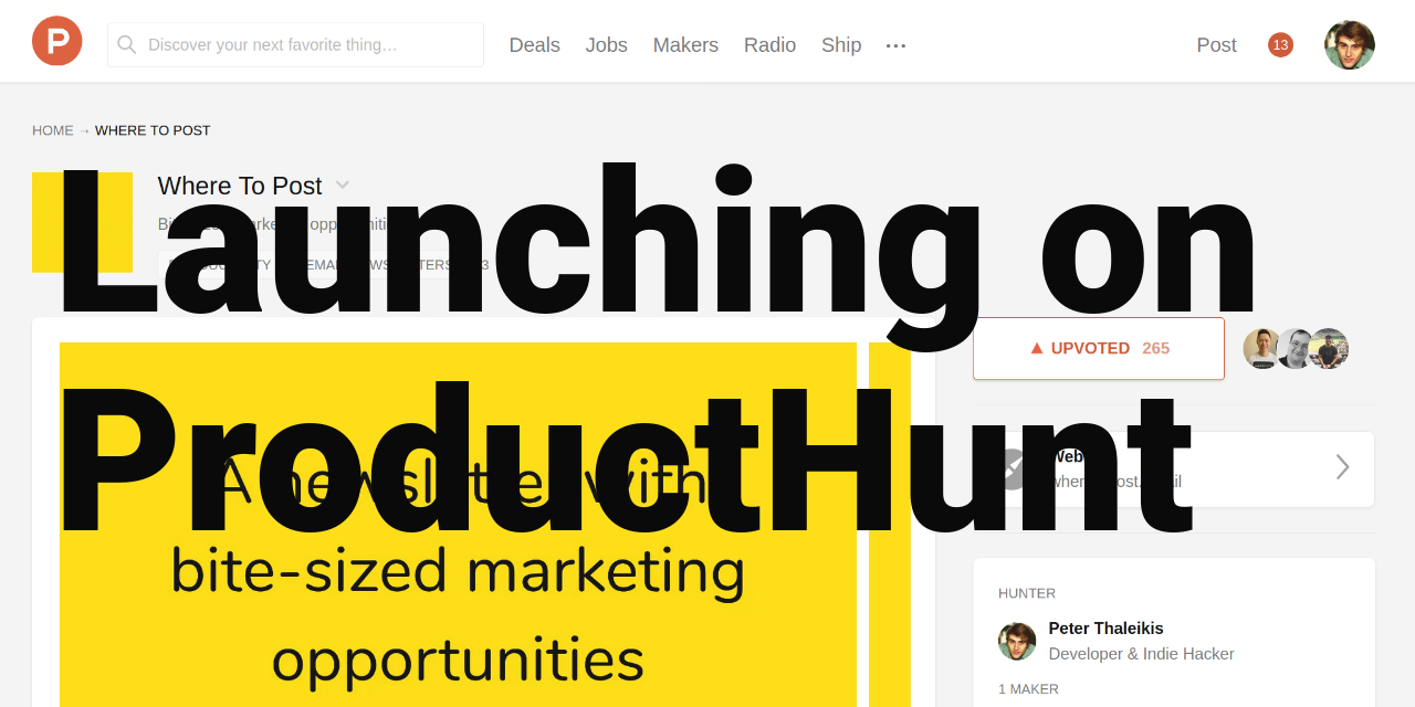 /how-to-launch-on-producthunt-6o7f3ydq feature image