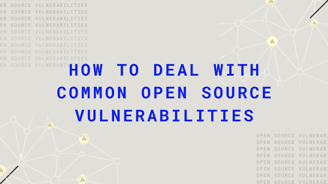 /how-to-deal-with-common-open-source-vulnerabilities-nf7e32c1 feature image