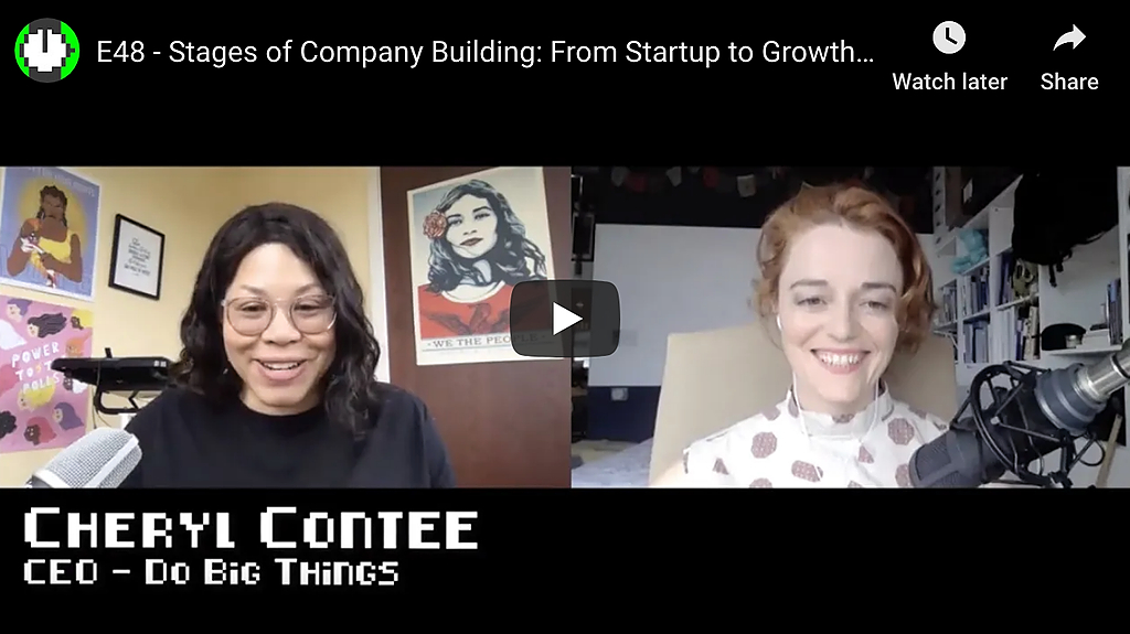 /company-growth-stage-from-startup-to-growth-and-exit-with-cheryl-contee-01fv3tpl feature image