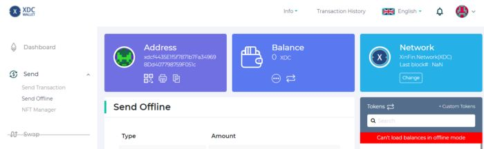/send-offline-functionality-sof-to-transact-xinfins-xdc-coins-4dt33j2 feature image