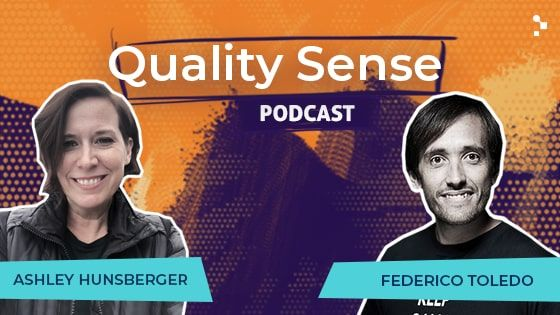 Quality Sense Special Guest Ashley Hunsberger On Agile Transformation